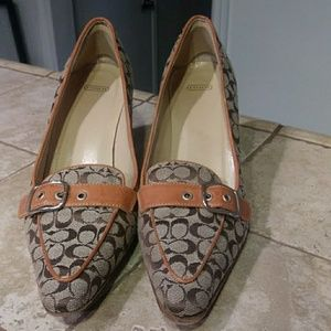 Coach loafer heels Jayne